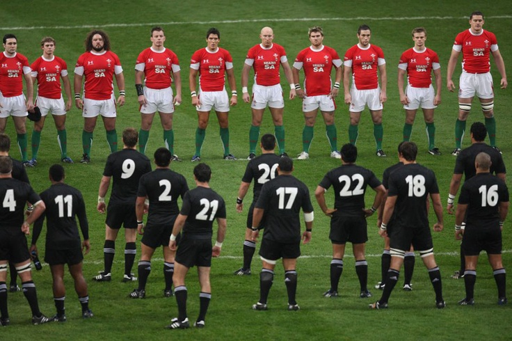 Wales v New Zealand - The Stand Off! It's our turf you walk away!