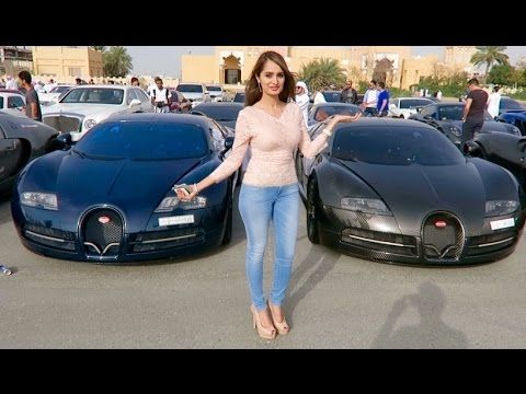 Rich Kids of the Middle East - The Most Expensive Car Event in the World...