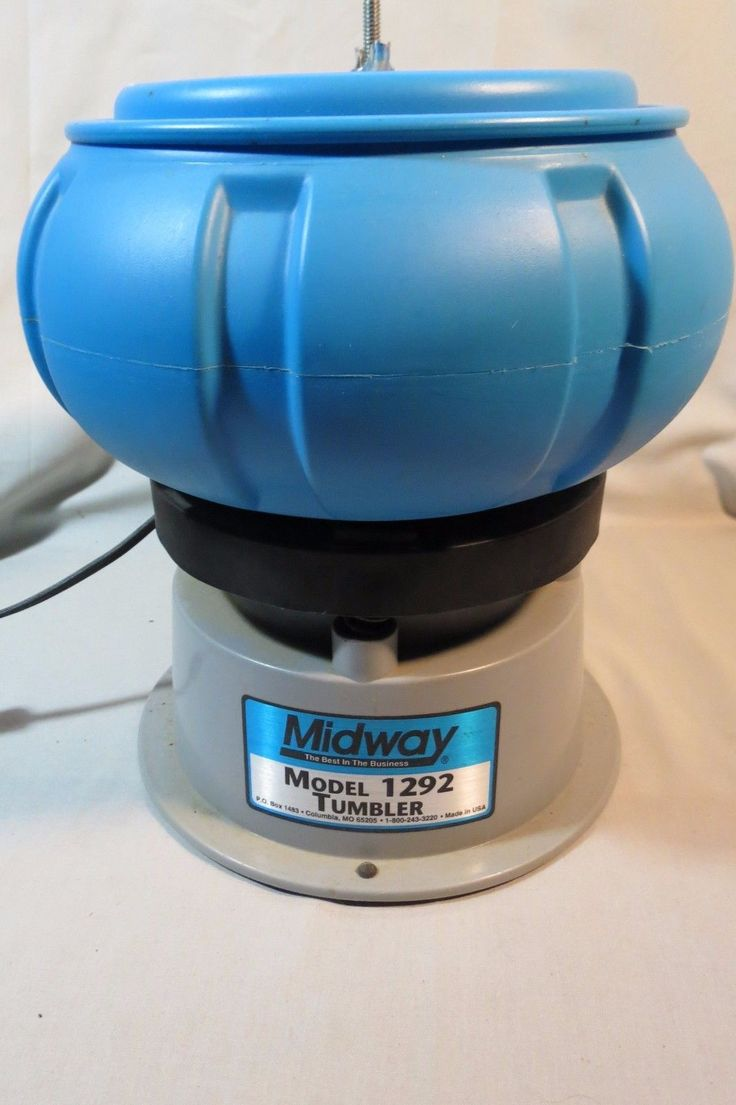 Midway Case Tumbler 1292 Vibratory with Separator