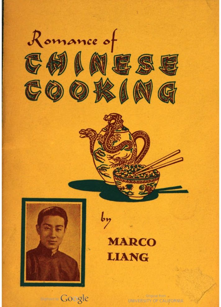 Romance of chinese cooking