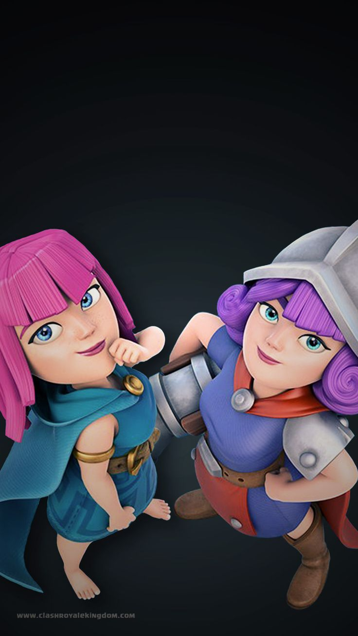 Ladies Royale Clash Royale Wallpaper - Clash Royale Kingdom