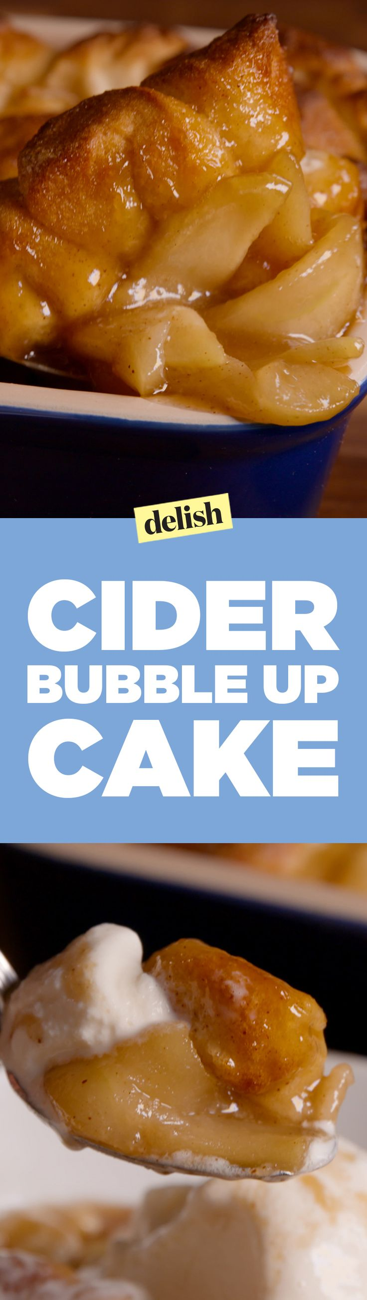 Cider bubble-up cake will be the most popular thing on the dessert table. Get the recipe on Delish.com.