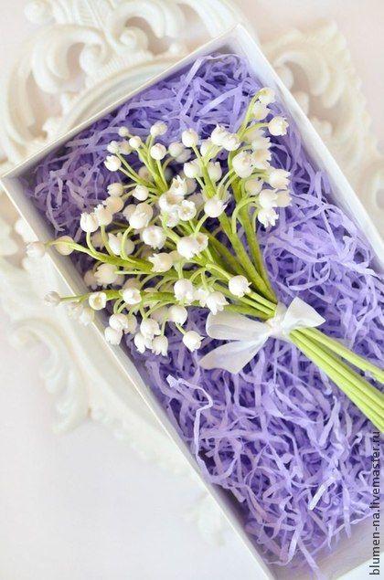 """Купить Букет -комплимент """"Майская лилия"""" - букет, ландыши, букет в подарок, букет цветов"""