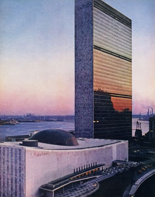 UN - United Nations Building NYC