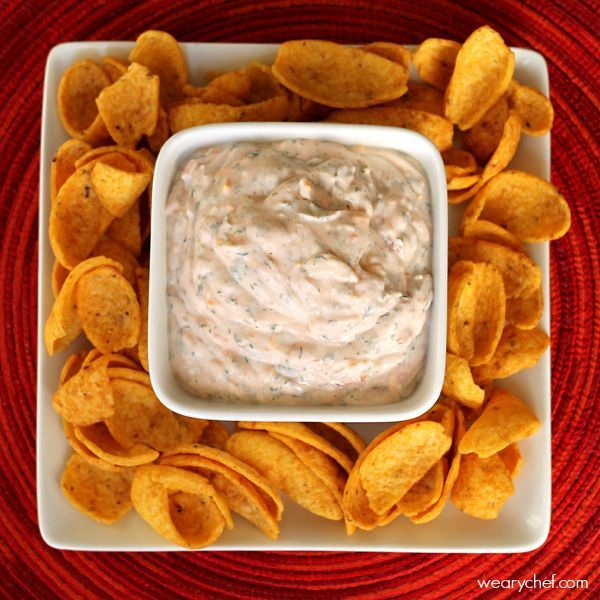 You can't beat this quick sour cream dip for an easy party food. It's a reader favorite!