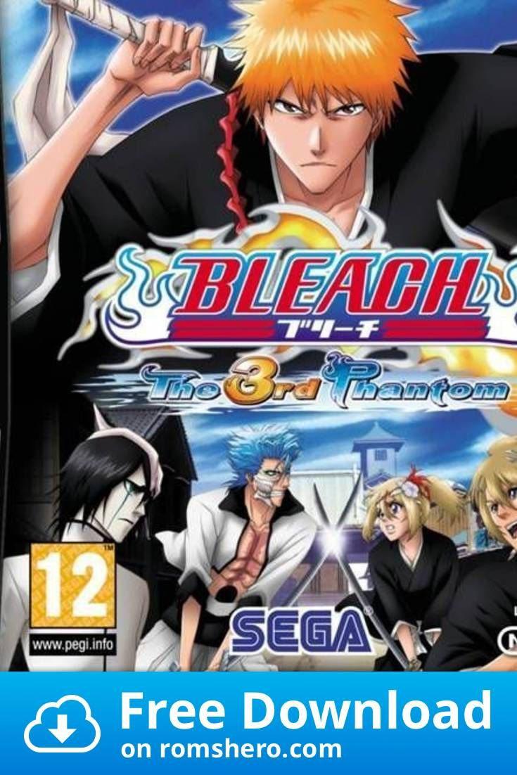 Download Bleach The 3rd Phantom Nintendo Ds Nds Rom In 2020