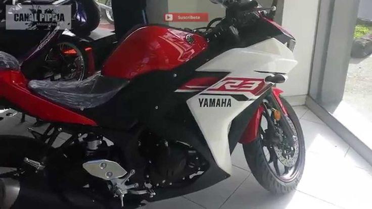 YZF R3 Yamaha Colombia 2015-2016 Walkaround