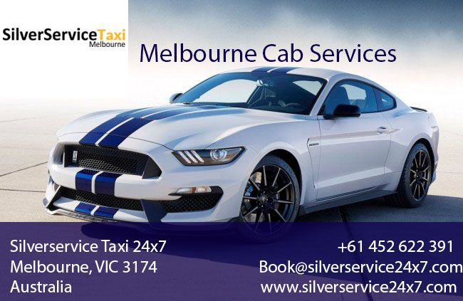 #Melbourne #Cab #Services gives comfortable, enjoyable and accessible services to customers. Book your rides by Book@silverservice24x7.com and we will give confirmation of booking witin 15 minutes.