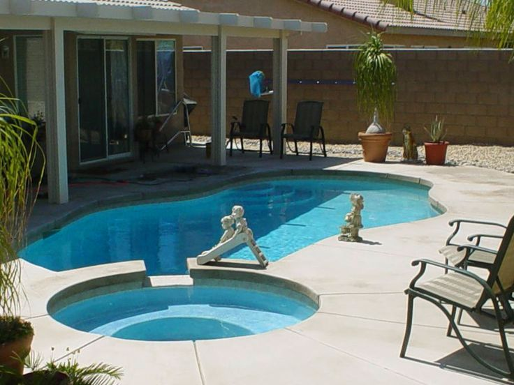 Very small inground swimming pools small backyard pools add extra touch of style your home - Backyard swimming pools designs ...