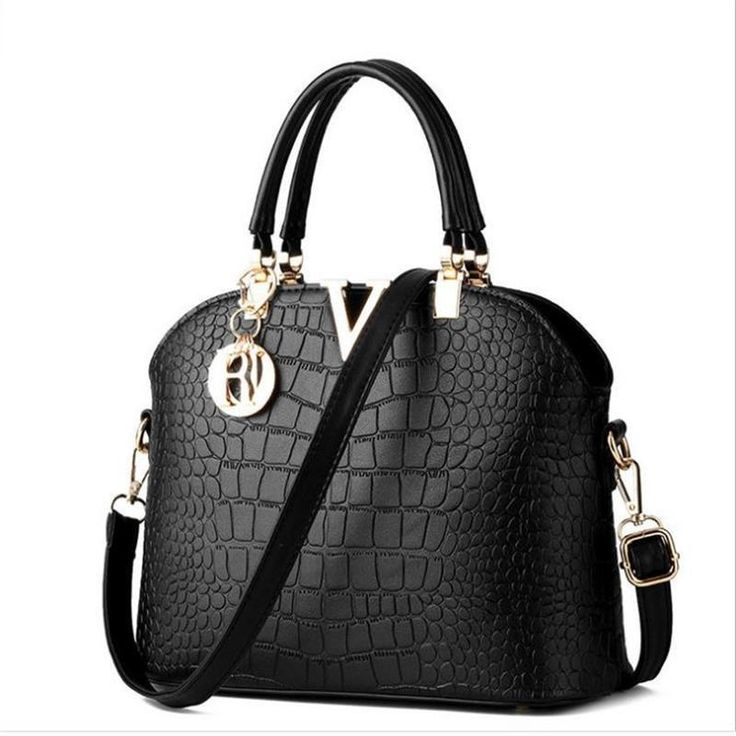 Luxury Leather Handbags Women Messenger Bag Crocodile Pattern Crossbody //Price: $40.00 & FREE Shipping //     #fashion