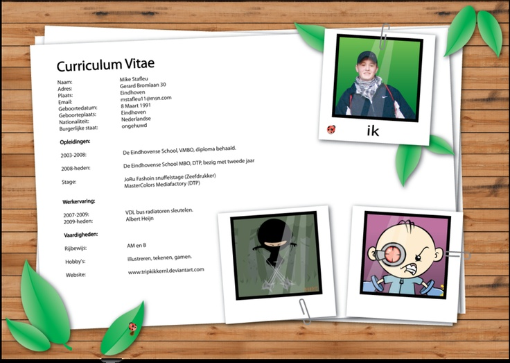 BAD EXAMPLE (With images) Creative resume, Creative cv