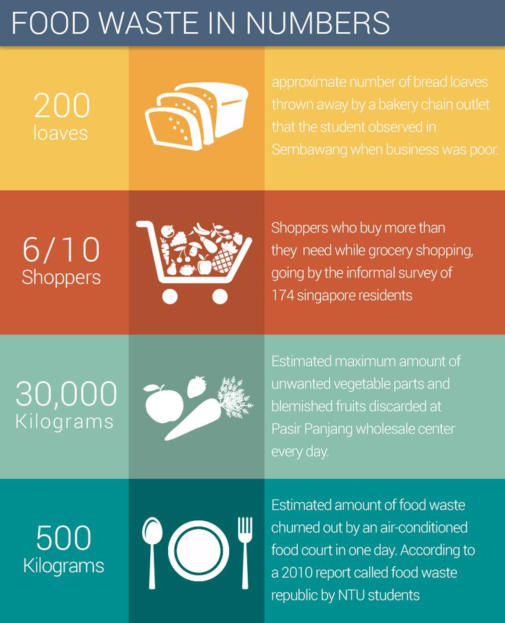 Some Interesting Food Waste Statistics Infographics