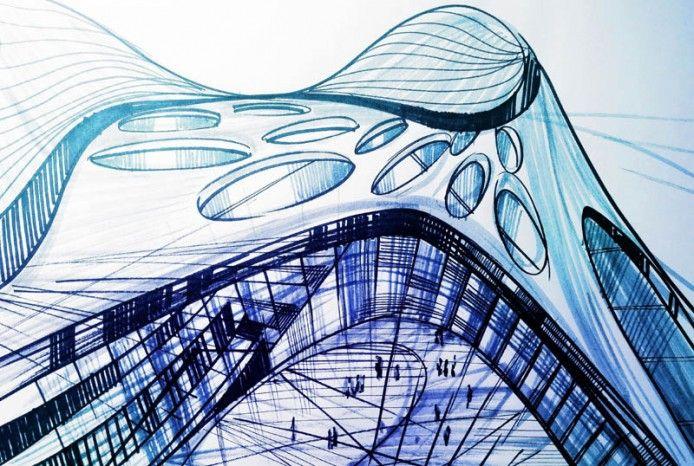 Concept By Zaha Hadid
