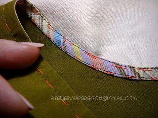 Обработка криволинейных срезов косой бейкой