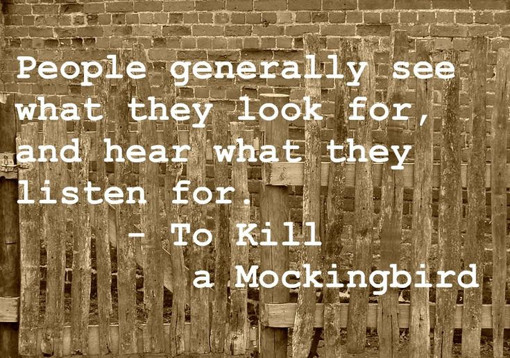 From To Kill a Mockingbird by Harper Lee (repinned from Imagination in Focus: Best of Book Quotes, [2])