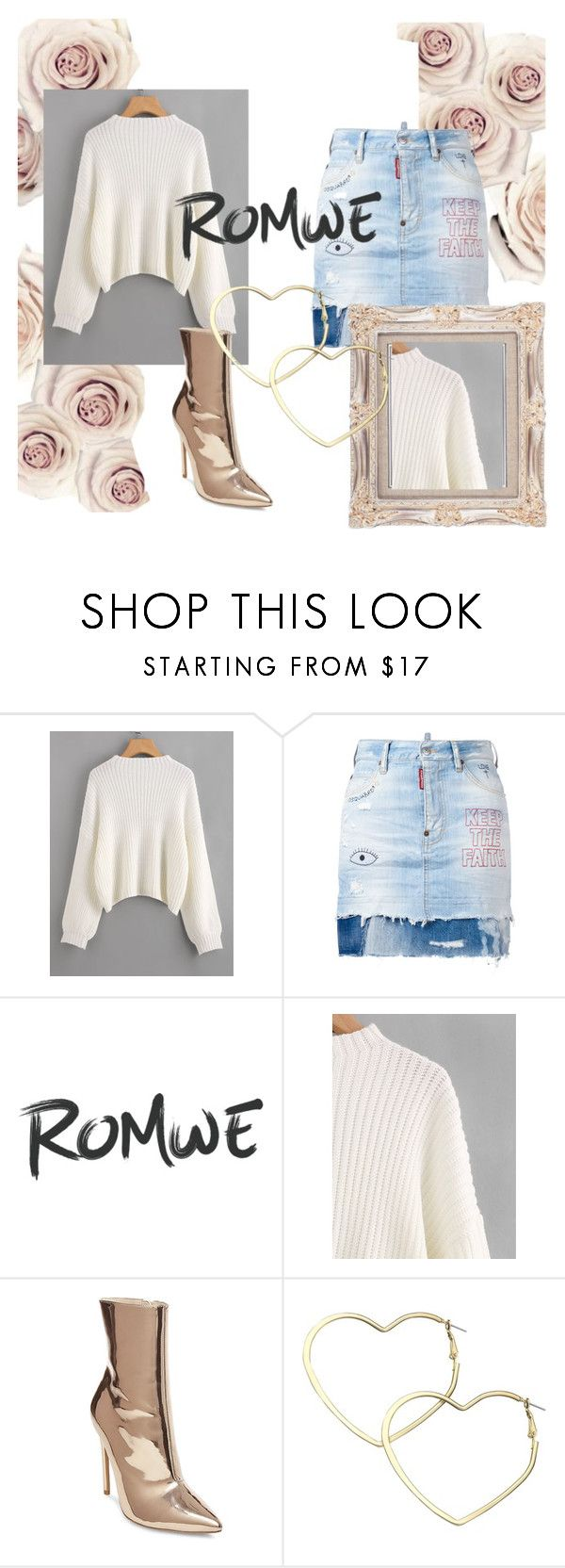 """Chill Factor"" by chelsofly on Polyvore featuring Dsquared2, Steve Madden, Thalia Sodi, Sweater, romwe and contestentry"