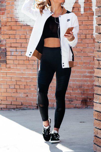 Leggings: tumblr workout black mesh sportswear sports bra sporty sports shoes sports pants sports