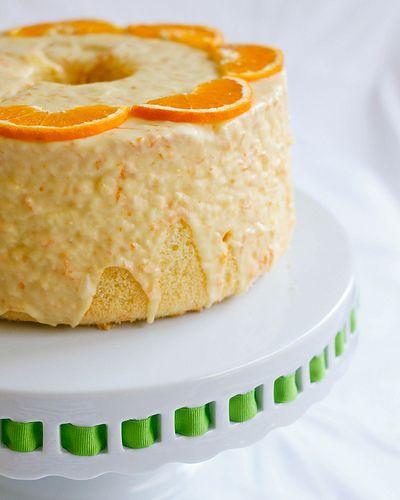 Orange Chiffon Cake by TreatsSF, via Flickr