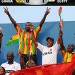 L'Egypte s'est inclinée ce mardi 15 octobre en barrage aller des éliminatoires de la Coupe du Monde 2014 face au Ghana à Kumasi, encaissant un...