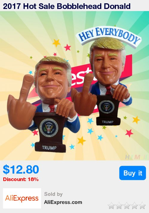 2017 Hot Sale Bobblehead Donald Trump Bobble Middle Finger Action Figure Fcck Clinton 2016-Election  * Pub Date: 15:56 Apr 1 2017