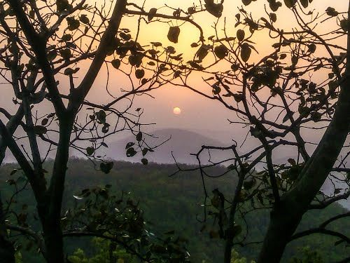 sunset point netarhat , Latehar @NarendraModi
