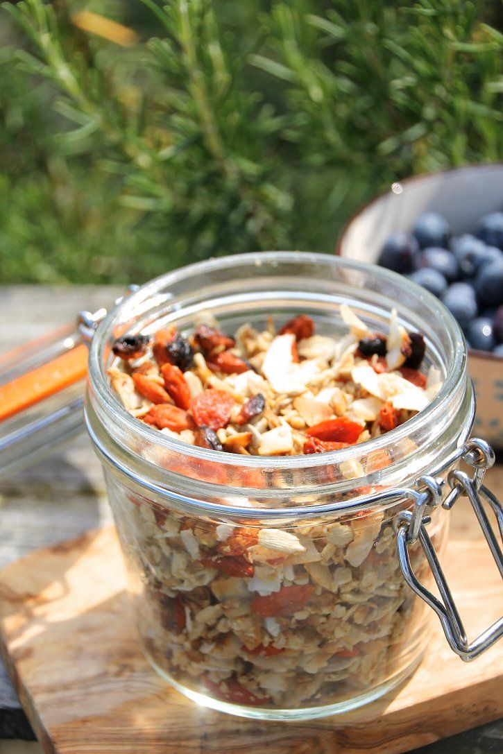 Naturally Sassy | Peanut Butter, Coconut & Baobab Granola - Recipe