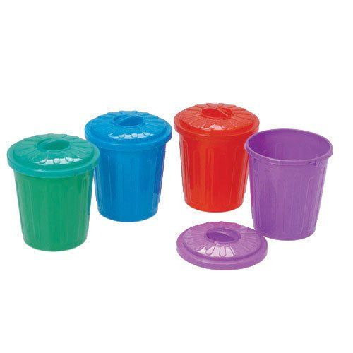 Lot Of 12 Assorted Color Garbage Can Holder Containers US Toy http://www.amazon.com/dp/B0087QJ956/ref=cm_sw_r_pi_dp_jvddvb19XSXPW