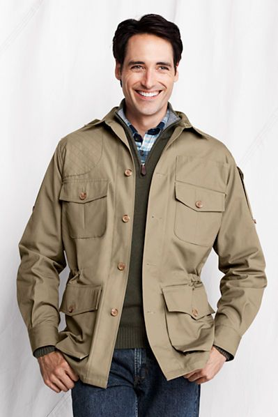 Willis & Geiger Bush Poplin Hemingway Jacket from Lands ...