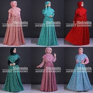 SHELOMITA by Agoest Hanggono dress & pasmina bahan brukat furing ITY crepe sleting belakang all size Ld 102cm fit xl  For Price & Order Line @kni7746k Whatsapp 62896 7813 6777  #gamislebaran #gamishijabersbranded #gamishijabers #gamispremium #supplierbajupestamuslim #suppliergamishijabers #suppliergamisbrandedjakarta #supplierbajupestamuslim #pusatgamisbrukat #pusatgamispestabranded #pusatgamispremium #muslimahwearshop #muslimahwear #muslimahwearmalaysia #muslimahdress #muslimahstylist…