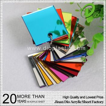 shandong factory 2.6mm a grade extrude mirror acrylic sheet price