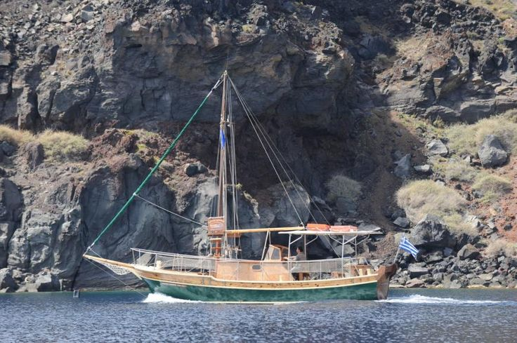 Cruise around Santorini and enjoy free time at Nea Kameni volcano, languish in the hot springs, and watch the sun fade over the island on a sunset dinner cruise with Tourboks!