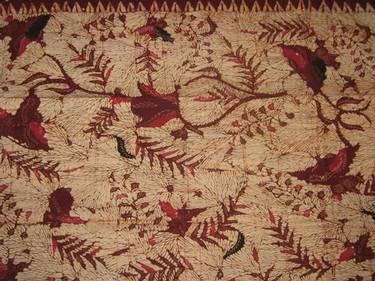 Batik Tulis Madura (Tanjung Bumi), East Java. Hand drawn batik on cotton from Madura.