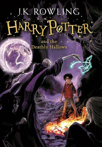 Harry Potter and the Deathly Hallows. The UK cover art is better!