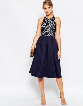 gorgeous midi dress - would need a hem