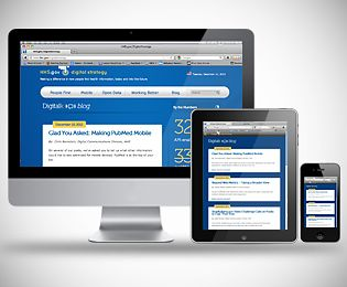 HHS in Responsive Design | via HHS Digital Strategy