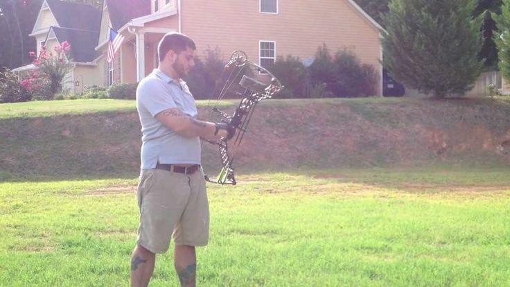 Barebow Compound Shooting Mathews eZ7 - YouTube