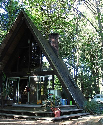 40 best Exterior - A-frame images on Pinterest | A frame cabin ...