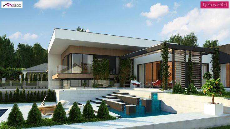 Zx151 to wyjątkowy dom z kategorii projekty domów jednorodzinnych