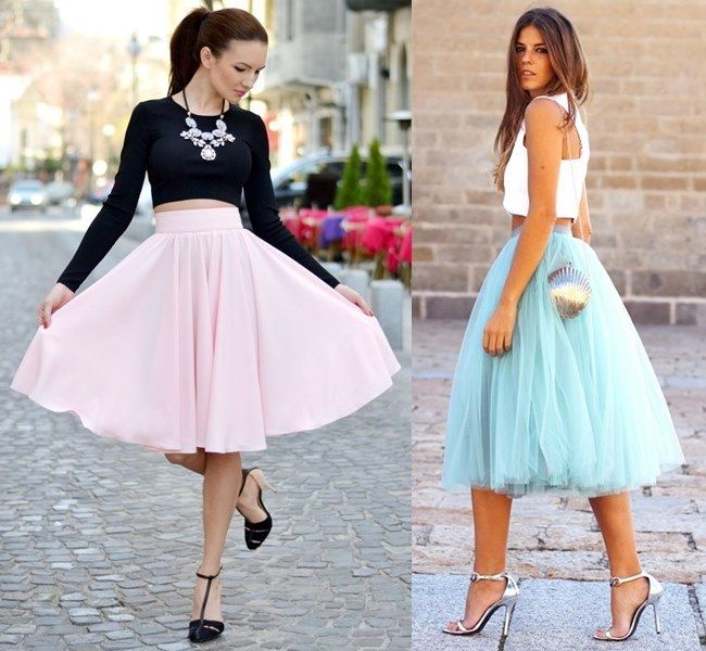 Feminine Wedding Guest Outfit Ideas with Midi Skirt Outfit Full Skirt