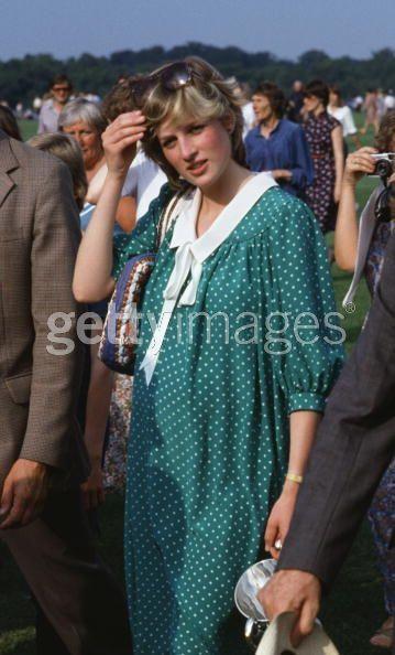 Princess Diana pregnant with Prince William. - princess-diana Photo
