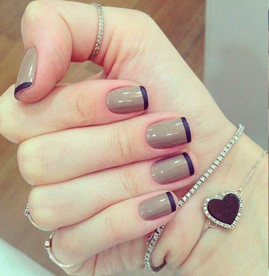 Essa combinação de cores é bem diferente, mas ficou linda!!! Que tal fazer para o fim de semana? Os melhores produtos para suas unhas você encontra em: www.lojadeesmaltes.com.br