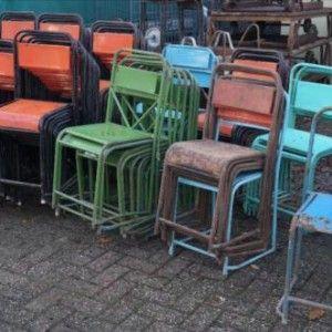 metalen stoelen - Trading131