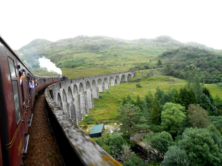 Harry Potter Steam Train - Scotland