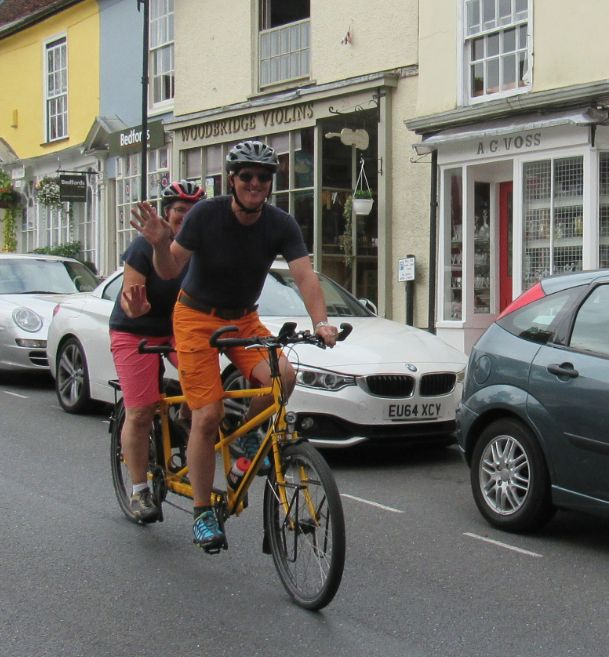 It's fun living in Woodbridge - one of the UK's top 10 towns.
