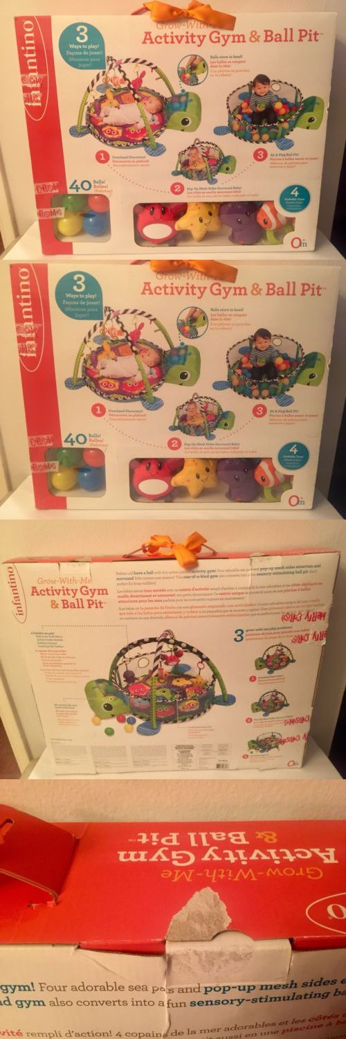 Baby Gyms and Play Mats 19069: Infantino Grow-With-Me Activity Gym And Ball Pit -> BUY IT NOW ONLY: $65 on eBay!