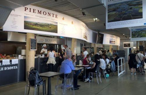 Padiglione Eataly, area ristoranti regionali