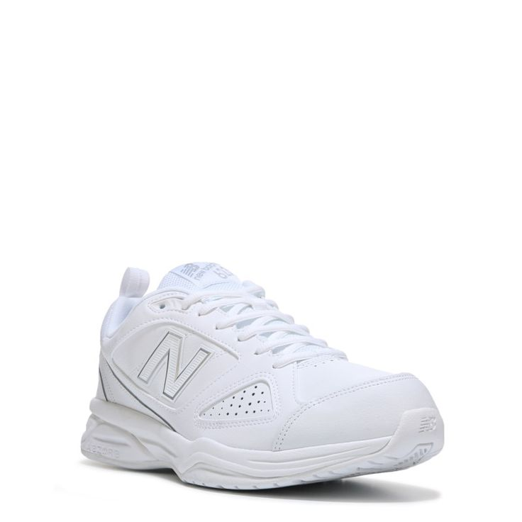 New Balance Men's 623 V3 Medium/Wide/X-Wide Sneakers (White Leather) - 16.0 4E