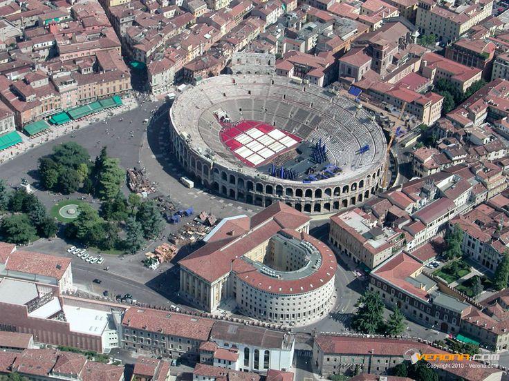 Verona, Arena di Verona e Piazza Brà