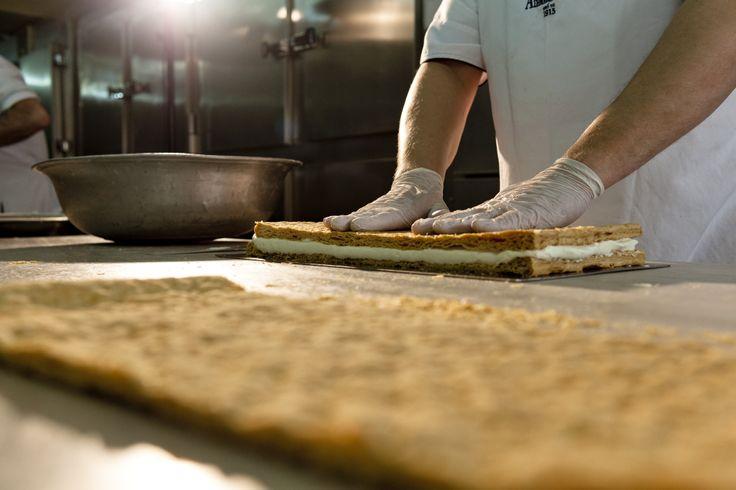 mille feuille Afoi Asimakopouloi patisserie / bakery Athens , Exarcheia http://asimakopouloi.com/