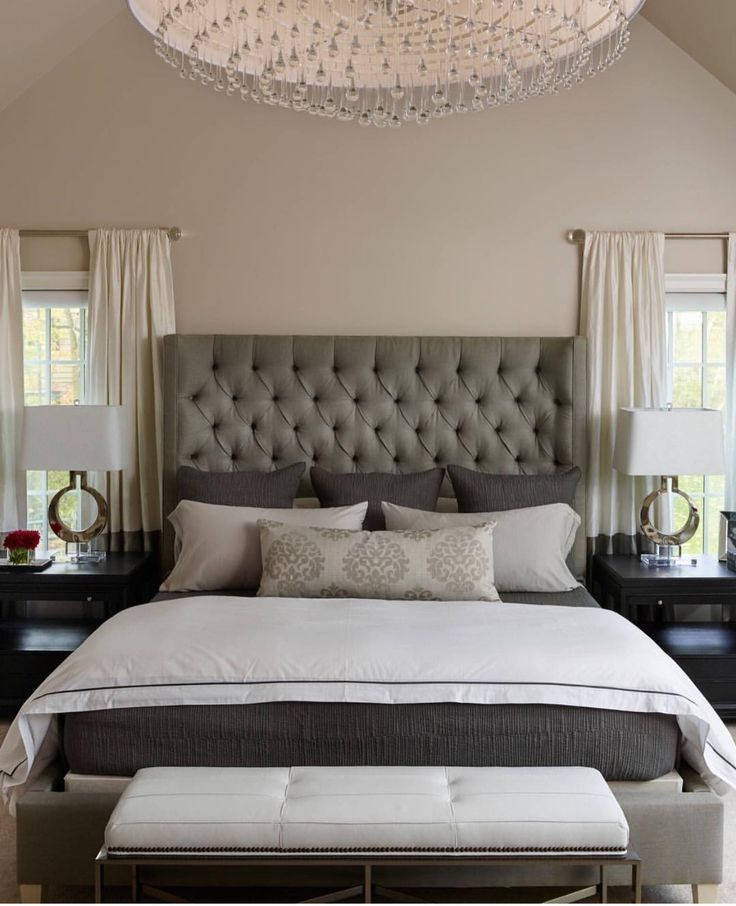 1740 best images about master bedroom on pinterest Modern chic master bedroom